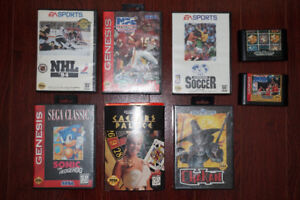 Sega Genesis Games for sale - with Box