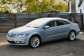 2013 VW CC GT TDI BLUEMOTION £30 TAX FVSH 1 OWNER LOW RATE FINANCE AVAILABLE