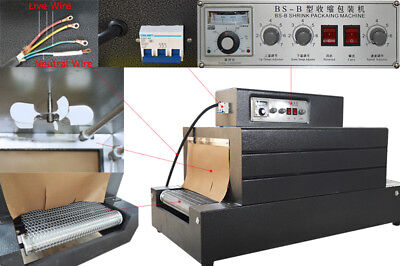 220v Thermal Heat Shrink Tunnels Packaging Machine For Pvcpppe Tunnel Dryer
