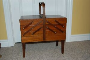 Vintage Sewing Box/Basket Cornwall Ontario image 1