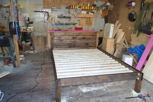 SOLID WOOD BED FRAMES London Ontario image 1