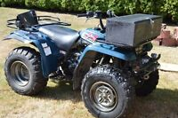 For Sale 1996 Yamaha 350 4x4 ATV with winch