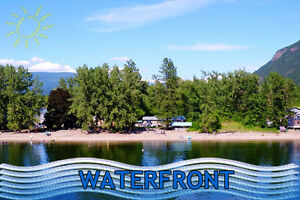 Affordable waterfront on Little Shuswap Lake!