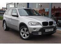 2007 BMW X5 3.0d SE Auto NAV, LEATHER, P ROOF, XENONS and19andquot; ALLOYS