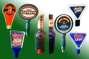 Collection of 8 Collectible Beer Tap Handles - $10 Each
