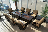 fire tables, patio furniture, outdoor wicker, lawn furniture