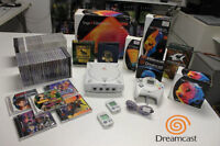 Huge Sega Dreamcast Lot 55 New/Used Games & Console Bundle