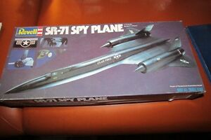 Revell model kit SR-71 Spy Plane