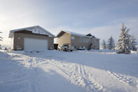 Live in the Country on 10.54 acres in New 1836 sq ft Bungalow!