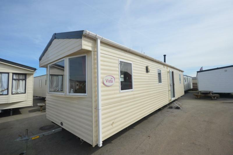 Static Caravan Dymchurch Kent 3 Bedrooms 8 Berth ABI Vista 2011 New Beach