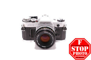 Canon AE-1 (Silver) with Canon FD 50mm f1.8 Lens