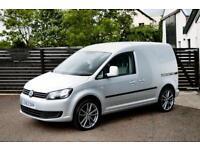 2013 VW CADDY 1.6 102 AC EW REFLEX SILVER 2 KEYS 1 YEAR WARRANTY