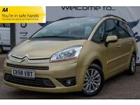 2008 CITROEN C4 PICASSO 1.6 GRAND VTR PLUS HDI EGS AUTOMATIC NEW MOT 7 SEATER FU