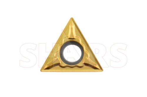 Shars 5 Pcs TPGT 321 Tin Coated C5 Insert New !{