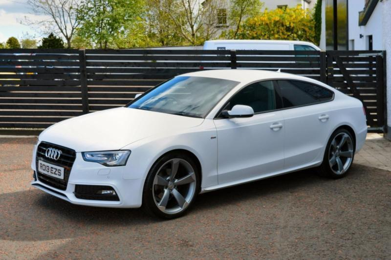 2013 audi a5 s line black edition styled fash 1 owner top spec in ballymoney county antrim. Black Bedroom Furniture Sets. Home Design Ideas