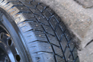Winter Tires Like New