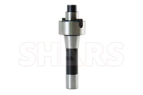 "SHARS 1"" R8 SHANK SHELL MILL ARBOR ADAPTER FOR BRIDGEPORT MACHINE NEW"