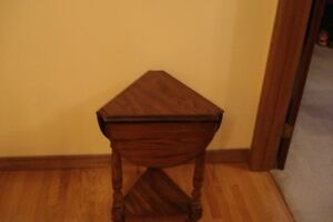 DROP LEAF COFFEE AND END TABLE