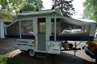2006 8' Jayco Pop Up Tent Trailer Excellent Condition