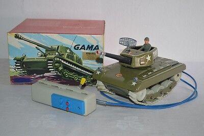 Gama Tank Panzer T99 Fernsteuerung Made in Western Germany OKT 122