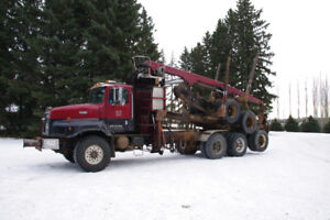 International Log truck