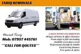 Van for home removal