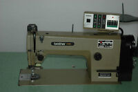 Brother Single Needle Lockstitch Sewing Machine with Table