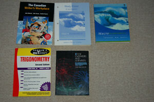 University Text books for sale