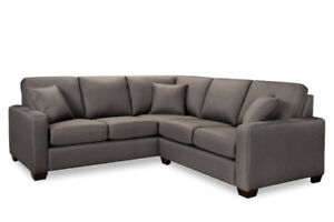 """BRAND NEW SECTIONAL 88"""" by 88"""" - MADE IN CANADA $1100"""