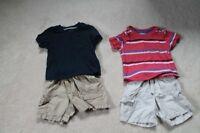 Lot of summer boys 6-12/9-12 mth