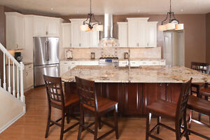 Renaissance style full wood kitchen - $500 off with coupon