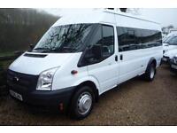 FORD TRANSIT 430 135BHP 16 SEAT MINI BUS 14 REG