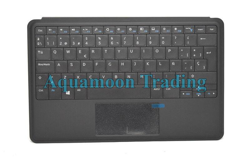 Spanish Dell Venue 11 Pro 5130 7130 7139 7140 Slim Docking Keyboard Case K11A