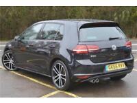 2015 Volkswagen Golf GTD 2.0 TDI 184 PS 6-speed DSG 5 Door Diesel black Semi Aut