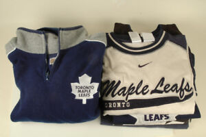 5 pc Toronto Maple leafs Childs shirt jesey jacket Sz.M to L
