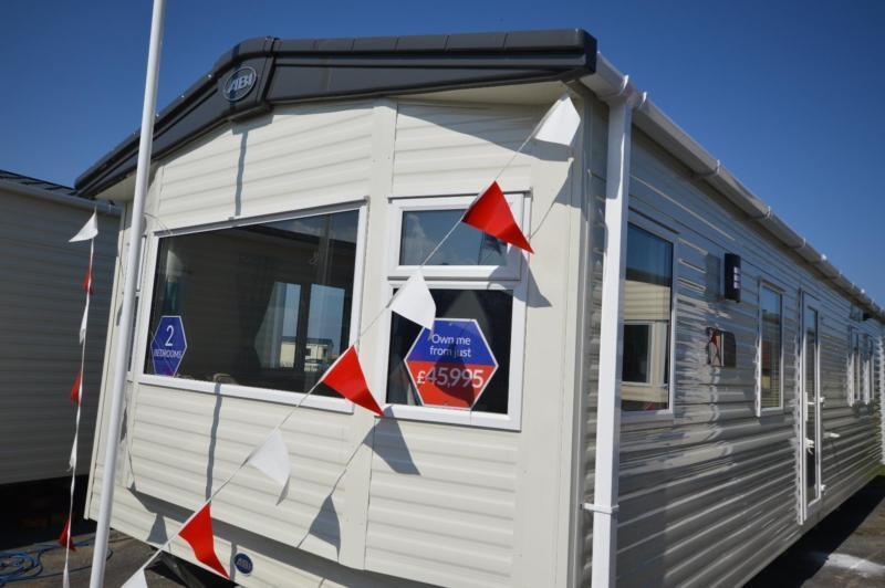 Static Caravan Whitstable Kent 2 Bedrooms 6 Berth ABI Oakley 2017 Seaview