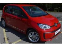 2017 Volkswagen UP up! beats 1.0 60 PS 5-speed Manual 5 Door Petrol red Manual