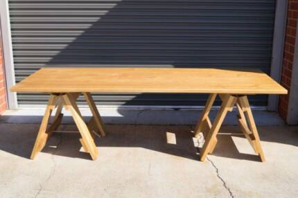 Dining | Drafting Baltic Top Quality Trestle Table 240cm x 90cm