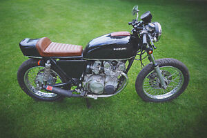 REDUCED Cafe-style Suzuki GS550 - Runs great, looks incredible!