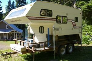 BEST OF BOTH WORLDS / Camper & Trailer For $6500.00