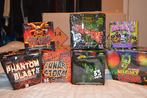 Over $325.00 worth of fireworks