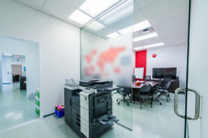 Fully furnished offices for rent for short or long term lease