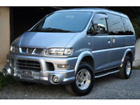 MITSUBISHI DELICA ACTIVE FIELD LTD EDITION 2005 (LAST OF THIS SHAPE)