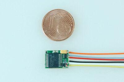 Kühn N025 Lokdecoder DCC Motorola mit Kabel NEM 651