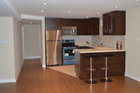RENOVATED, LARGE LOWER LEVEL 2 BDR+DEN APARTMENT IN THORNHILL