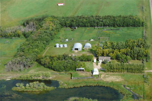 Farm Living/City Amenities. 128 acres 15 Mins From Yorkton.