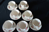 Royal Albert China tea cups & saucers