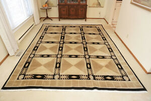 Stunning Wool Rug in Excellent Condition Stratford Kitchener Area image 1