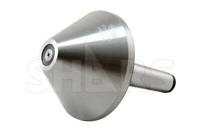 Mt 3 Morse Taper .0003 Heavy Duty Bull Nose Live Center 1320lb 2500 Rpm Cert A