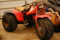 Honda ATC 125M Rolling Chassis for parts